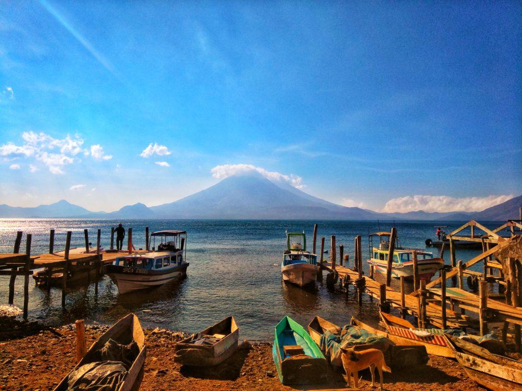 Lac Atitlan  - Les Quais