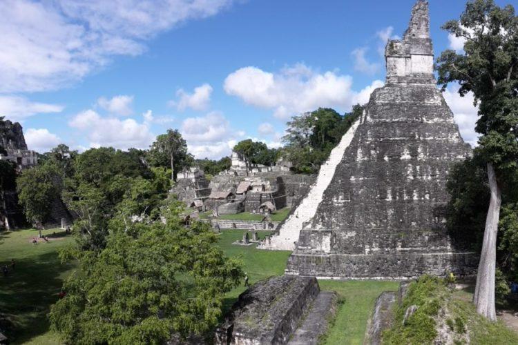 Temples Maya Tikal Guatemala