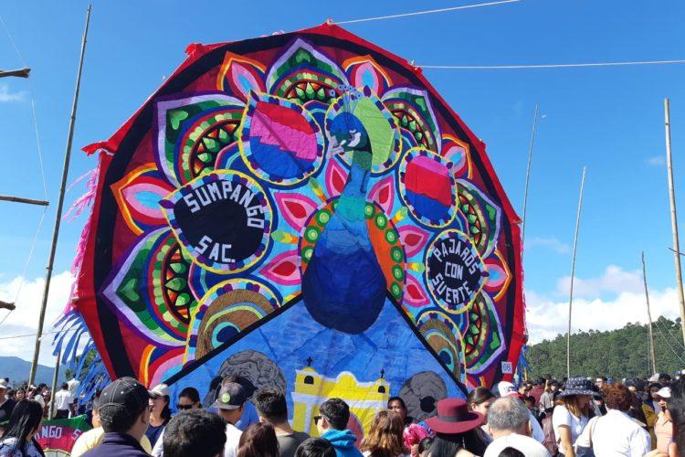 Festival des cerfs-volant géants - Todos Santos - Guatemala