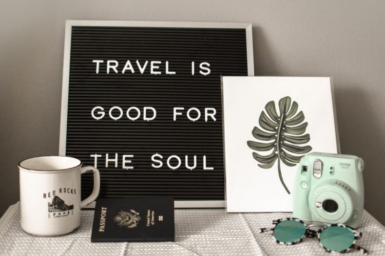 Le voyage est bon pour l'âme